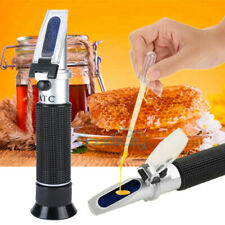 Hot Brix Refractometer For Moisture Beer Juice Wine Sugar Test With Atc