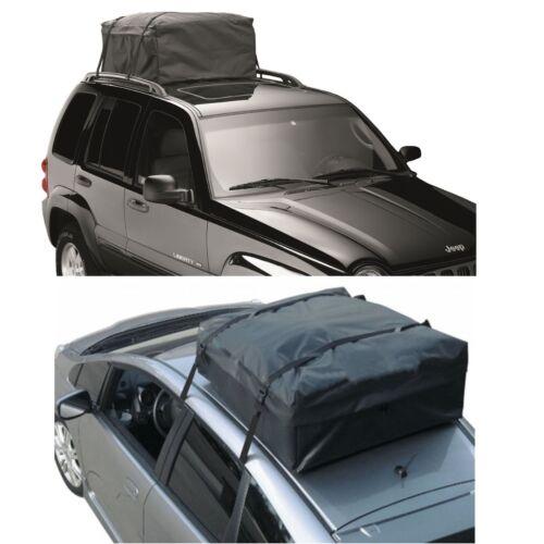 Rooftop Cargo Bag Waterproof Car Van SUV Travel Roof Top Luggage Storage Carrier