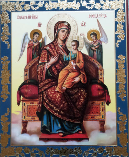 MOTHER GOD THE ALL-QUEEN RUSSIAN  ORTHODOX ICON