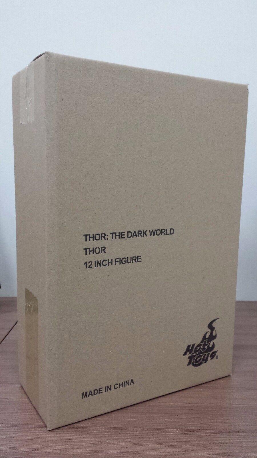 Hot Juguetes MMS 224 Thor 2 el Mundo Oscuro Chris Hemsworth 12 in (approx. 30.48 cm) Figura De Acción Nueva