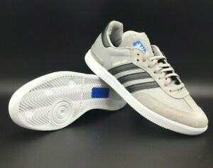 c80d9ad43 Image is loading Adults-Adidas-Originals-Samba-ADV-Trainers-Grey-BY3929