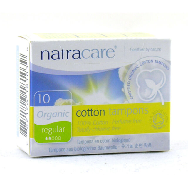 Natracare Organic Non Applicator Tampons Super Plus 20 Pack