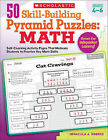 50 Skill-Building Pyramid Puzzles: Math, Grades 4-6: Self-Checking Activity Pages That Motivate Students to Practice Key Math Skills by Immacula A Rhodes (Paperback / softback, 2011)