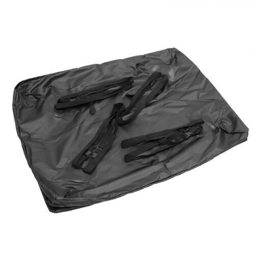 Waterproof Car Roof Top Rack Bag Large Travel Luggage Storage Cargo Carrier UK