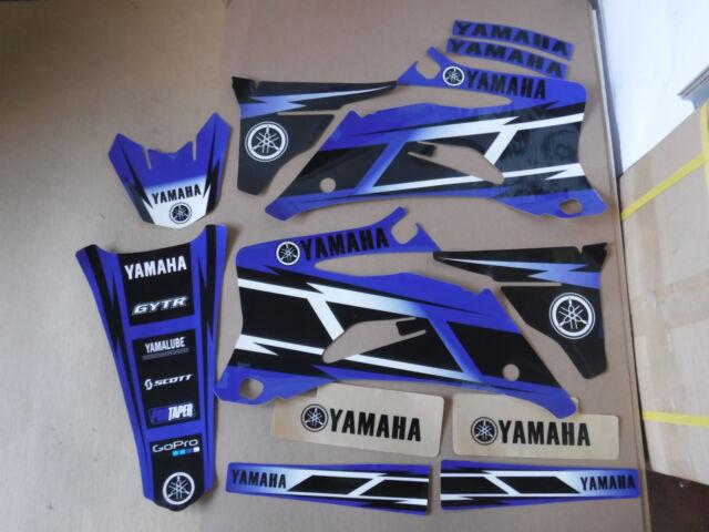 FLU TEAM GRAPHICS /& BACKGROUNDS YAMAHA YZ250F YZ450F  2006 2007 2008 2009  black