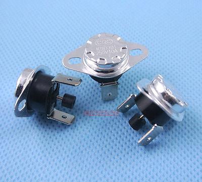2 x 150 C Manual Reset Thermostat normal fermé Interrupteur à température 250 V 10 A