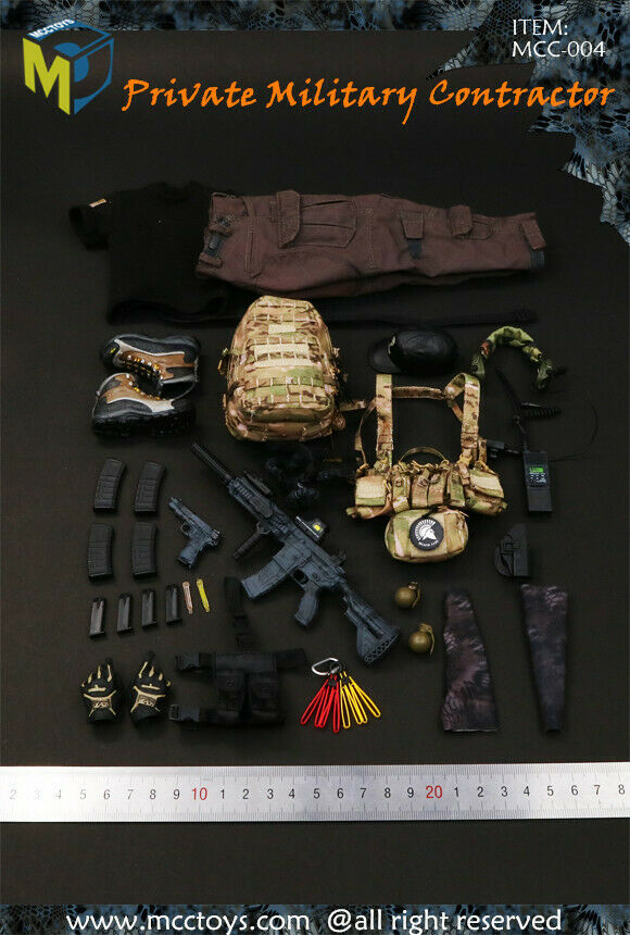 1 6 MCC TOYS PMC Private Military Contractor Figure Accessory MCC-004-A