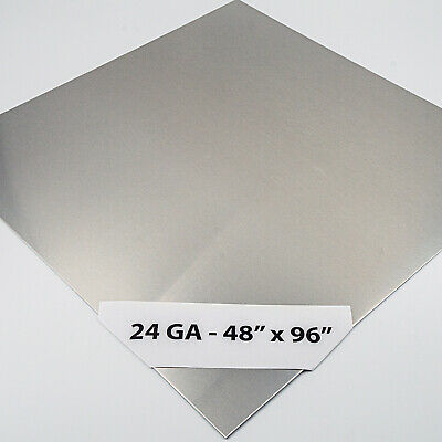 "24ga 304 #4 Stainless Steel Sheet Plate 24/"" x 36/"""