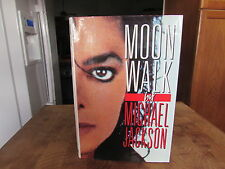 Moonwalk by Michael Jackson 1st edition  by Michael Jackson 1988