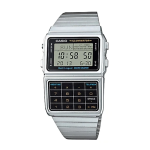 Casio-DBC-611-1DF-Silver-Stainless-Calculator-Watch-for-Men-and-Women