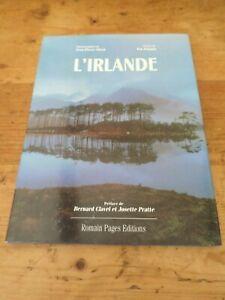 LIVRE-L-IRLANDE-PHOTOS-DUVAL-TEXTES-P-COOGAN-GEOGRAPHIE-LIBRO-BOOK