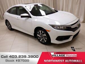 2018 Honda Civic EX Extended Powertrain Warranty!