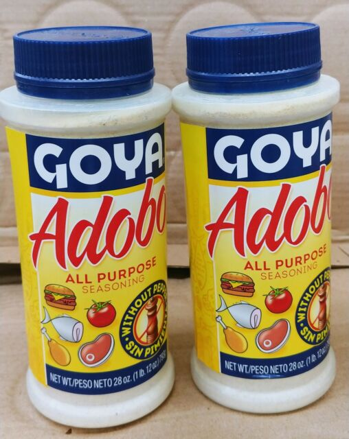 Mccormick Adobo Seasoning Without Pepper 7 62 Oz For Sale Online Ebay