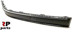 Peugeot 406 99-04 pare choc avant Moulage Bordure chromé droit O//S Avec TOW CAP