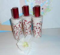 Bath & Body Works Japanese Cherry Blossom Satin Body Veil Spray X 3
