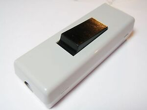 2-x-Schnurschalter-Schalter-1xEIN-AUS-250V-6A-Zugentlastung-schraubbar-9S70