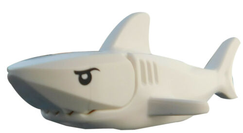 Lego weißer Hai Augen in schwarz 14518c01pb01 Tier Fisch City Basics Meer Neu
