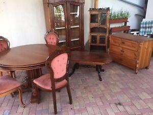 Details zu Antike Möbel Konfulut Schnäppchen günstig