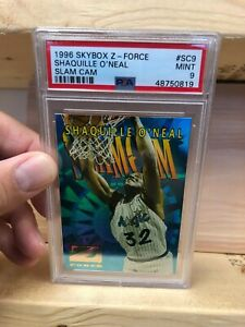 Shaquille-O-039-Neal-1996-97-Skybox-Z-Force-SC9-PSA-9-ULTRA-RARE