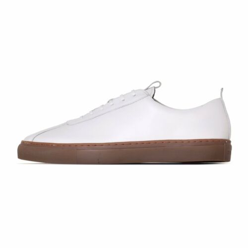 Grenson Sneaker 1 White Calf Leather Oxford