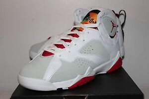 ac33c1e287a Air Jordan Retro 7 VII Hare White Grey Sneakers Boy s GS Size 3.5 4 ...