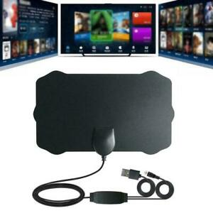 Digital-Antenna-TVHdtv-200-Miles-Long-Range-HQ-Hdtv-Indoor-Antena-Freeview-T3C8