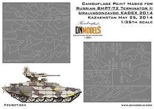 BMPT-72 Terminator II Splinter Camo Paint Masks 1/35 KADEX 2014 Arms Expo
