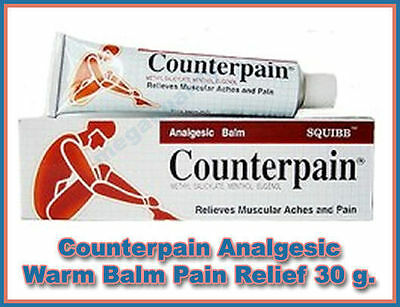 Counterpain Analgesic Balm relieves Muscular Aches and Pain 30g