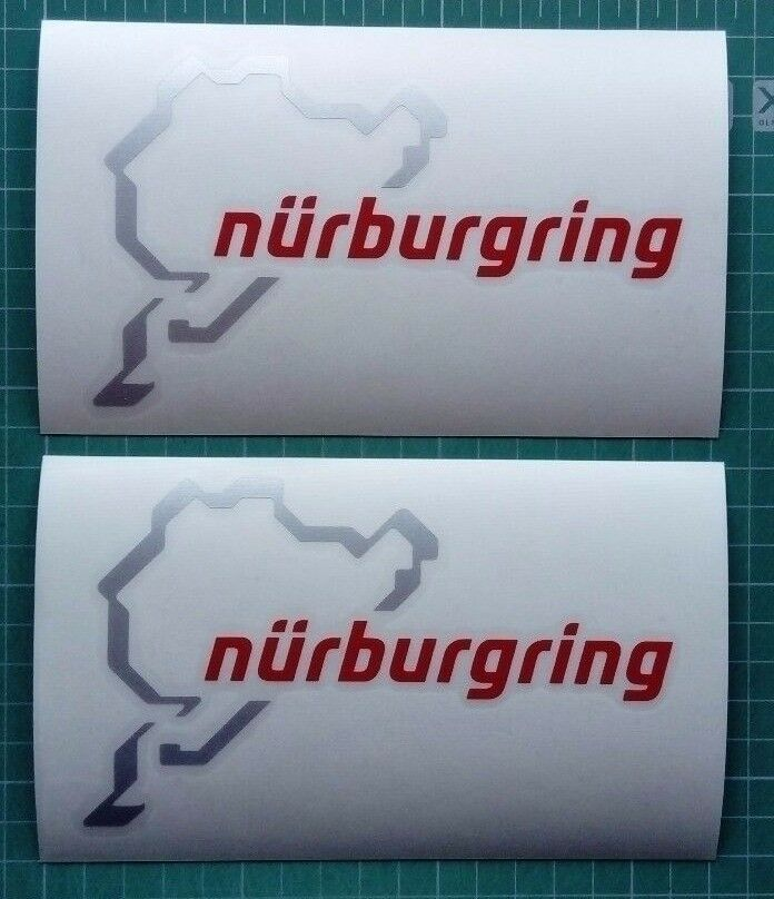 Nurburgring sticker decal