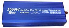 2000w (4000W peak) power inverter 2000 watt 24v UPS battery charger SPARK