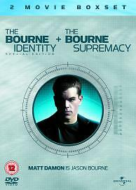 1 of 1 - The Bourne Identity / The Bourne Supremacy (DVD, 2005)