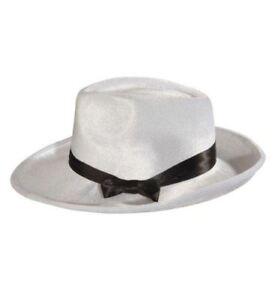 Widmann 2903w Cappello Gangster Bianco Velluto