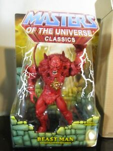 Les maîtres de l'univers Classics Red Beast Man Power Con Exclusive 2016 ~