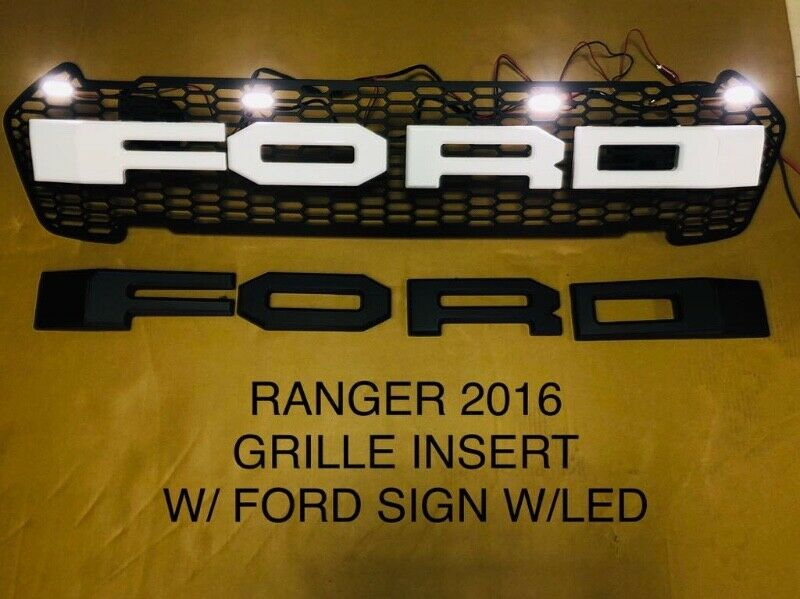 Ford Ranger 2016 T7 Accessory Type Grilles