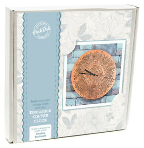 Peak-dale-craft-Metal-Embossing-Kit-Copper-Clock