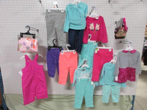 17 GIRLS 2T TODDLER CLOTHING SHIRT PANTS WONDER KIDS JOE BOXER BEANIE GLOVES