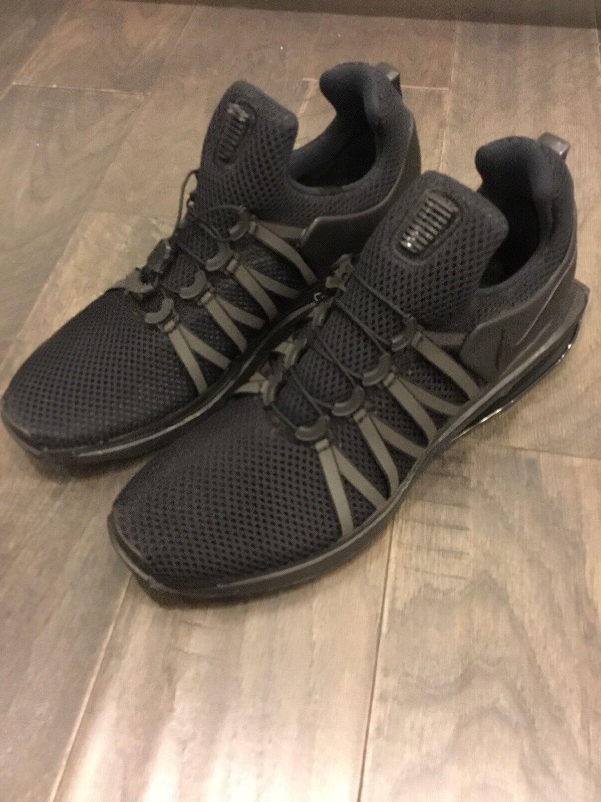 Nike Shod Gravity AR1999 001 New shoes Sneers Shox Black Black Black Size 9 c6befa