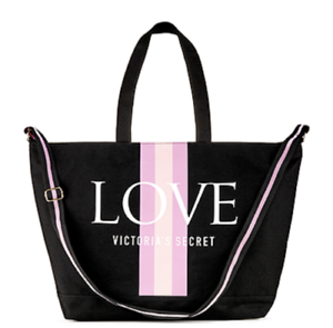 Details About Victoria S Secret Limited Edition Love Weekender Tote Bag Summer 2019