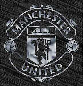 Stencil manchester united logo football reusable pattern wall art image is loading stencil manchester united logo football reusable pattern wall voltagebd Gallery