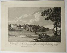 Gravure Ancienne XVIIIe MICHAEL ANGELO ROOKER 1776 SANDBY Barrington Talbot