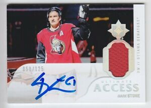2018-19-UD-ULTIMATE-MARK-STONE-AUTO-JERSEY-125-ACCESS-AUTOGRAPH-GAME-USE-Knight