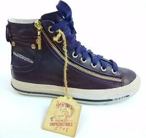 DIESEL Sneaker EXPO ZIP Damen Schuhe Sneakers Women Shoes Lila Violett Y01067 MO