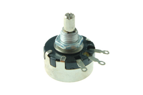 WX110 47R 1W 6mm Metal Shaft Rotary Wire Wound Potentiometer Single turn 010