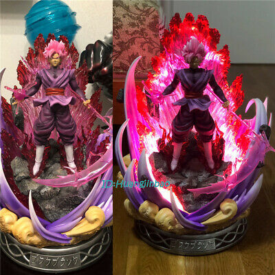 Temple Studio DragonBall DBZ Rose Black Son Goku GK Collector Resin LED Statue