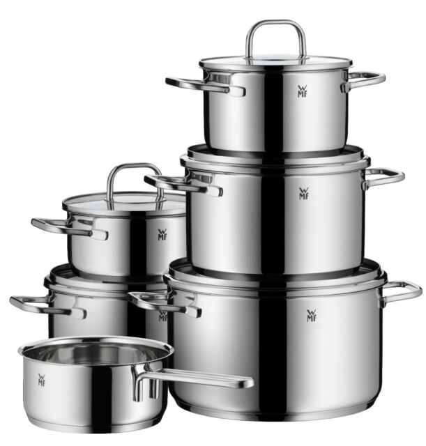 WMF 11-piece Inspiration 18/10 Stainless Steel Cookware Set