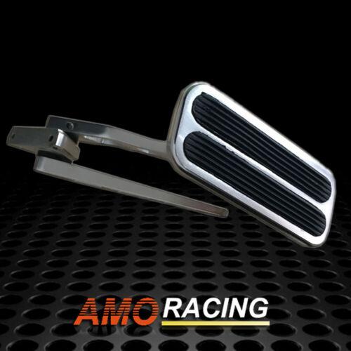 Brushed Aluminum Gas//Throttle Pedal Hot Rod,Rat Rod,Car,Truck Universal