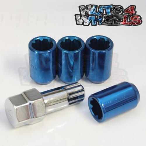 Tuner verrouillage écrous de roue bleu 12x1.5 fits Toyota Hilux Land Cruiser 4 RUNNER
