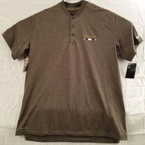 Nike NFL Denver Broncos Salute To Service Polo Shirt 853088-325 Mens Size XL