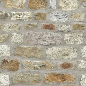 Country-Stone-Rustic-Old-Brick-Wall-Wallpaper-Faux-Effect-Realistic-Arthouse