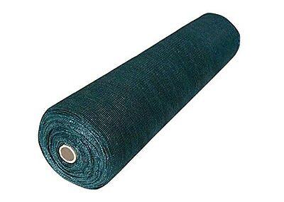 8'x50' Dark Green Shade Cloth Fabric Fence Windscreen Privacy Screen Cover
